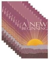A New Beginning (Sunrise) - pamphlet - pack of 10