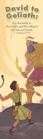 David and Goliath (1 Samuel 17:47) Bookmarks, 25