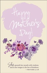 Wisdom (Proverbs 31:26) Mother's Day Bulletins, 100