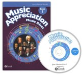 Music Appreciation for the Elementary Grades Book 1 Music Discs (5 Audio CDs)
