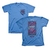 Create In Me A Pure Heart Of God Shirt, Blue, Large