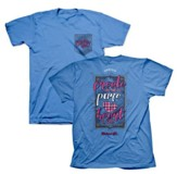 Create In Me A Pure Heart Of God Shirt, Blue, Small