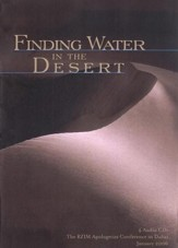 Finding Water in the Desert - CD