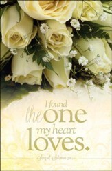 The One My Heart Loves (Song of Solomon 3:4, NIV) Bulletins, 100
