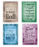 Here's to You, Box of 12 Assorted Ministry Appreciation Cards