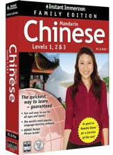 Instant Immersion Chinese, Family Edition 1-2-3
