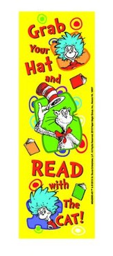 Dr. Seuss ™ Grab Your Hat Bookmarks