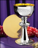 Filigree Detailed Chalice & Paten