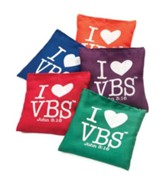 I Heart VBS Bean Bags, 5 pack of 5