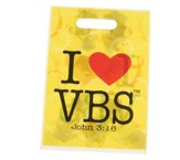 I Heart VBS Treat Bags, 25 packof 25