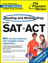 Reading and Writing Prep for the SAT & ACT: 2 Complete Books in 1