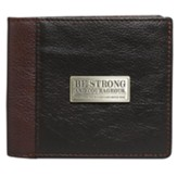 Courageous Bi-Fold Wallet, Brown