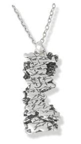 Aaronic Blessing Pendant, Silverplated