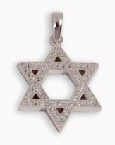 Star of David Pendant, Sterling Silver