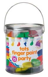 Tots Finger Paint Party