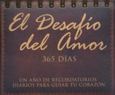 El Desafío del Amor, Calendario de 365 Días C/Tapas   (The Love Dare 365 Day Flip Calendar)