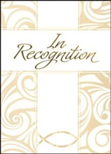 In Recognition Gold Foil Embossed Certificates, 6