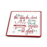 This Is The Day Christmas Plate, Psalm 118:24