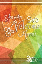 You are Welcome Here--Welcome Folders (pkg. of 12)
