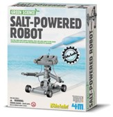 Salt-Powered Robot