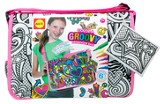 Color A Groovy Messenger Bag