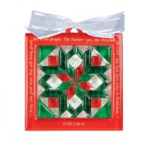 Bethlehem Star, Quilt Block Ornament