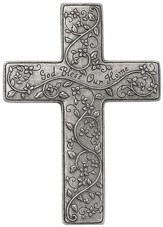 God Bless Our Home Wall Cross