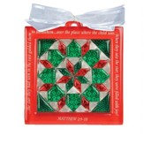 Star of the Magi, Quilt Block Ornament