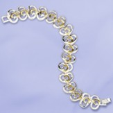 God's Heart, Two-tone Bracelet