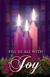 Fill Us with Joy, Advent Bulletins, 100