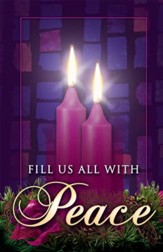 Fill Us with Peace, Advent Bulletins, 100