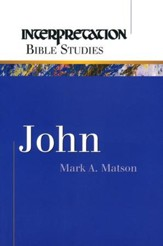 John, Interpretation Bible Studies