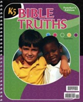 BJU K5 Bible Truths, Teacher's  Edition (Second Edition)