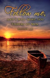 Fishers of Men (Matthew 4:19), Bulletins, 100