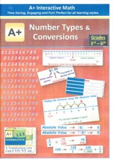 A+ Interactive Supplemental Math Number Types and Conversions on CD-ROM