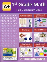 A+ Interactive Math Full Curriculum Textbook, Grade 1