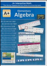 A+ Interactive Supplemental Math  Elementary Algebra on CD-ROM