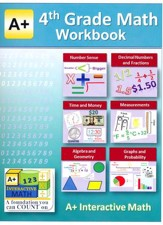 A+ Interactive Math Workbook, Grade  4