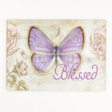 Blessed, Butterfly Cutting Board, Large