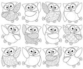 Create-Your-Own Owl-Stars! Classic Accents Variety Pack (36 Pieces)