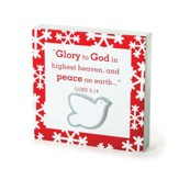 Dove, Glory To God Plaque