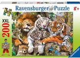 Big Cat Nap, 200 Piece Puzzle