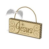 Jesus Plaque Ornament