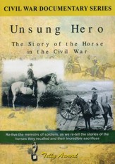 Unsung Hero: The Horse in the Civil War DVD