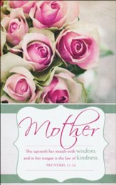 Mother's Day Wisdom (Proverbs 31:26, KJV) Bulletins, 100