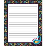 Perfectly Paisley Note Pad (50 Sheets)