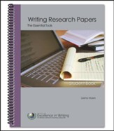 Writing Research Papers: The  Essential Tools Student Book