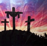 Splash Canyon VBS: Resurrection Banner (6' X 6')