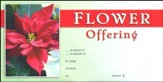 Christmas Flower Offering Envelopes, Pack of 100