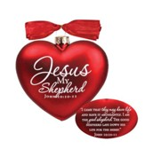 Jesus, My Shepherd Heart Ornament